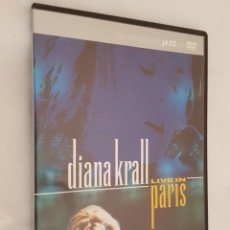 Vídeos y DVD Musicales: DVD MUSICA / DIANA KRALL LIVE IN PARIS / NUEVA, EN CAJA DELGADA.. Lote 194518330