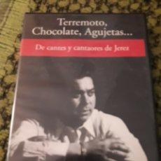 Vídeos y DVD Musicales: TERREMOTO, CHOCOLATE, AGUJETAS ... DE CANTES Y CANTAORES DE JEREZ. EDICION RBA DE 2005. Lote 194581630