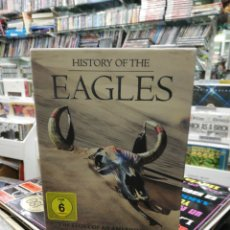 Vídeos y DVD Musicales: HISTORY OF THE EAGLES CAJA BOX 3 DVD'S + LIBRETO 2913. Lote 194617338