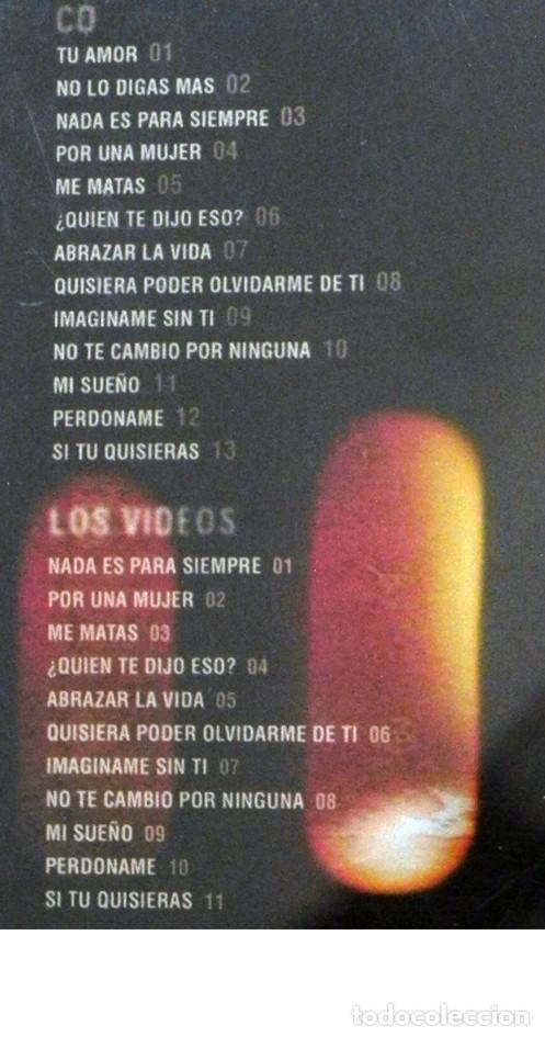 Vídeos y DVD Musicales: CD + DVD LUIS FONSI ÉXITOS 98 06 CANTANTE LATINO MÚSICA POP TU AMOR MI SUEÑO PERDÓNAME ME MATAS ETC - Foto 2 - 194710378