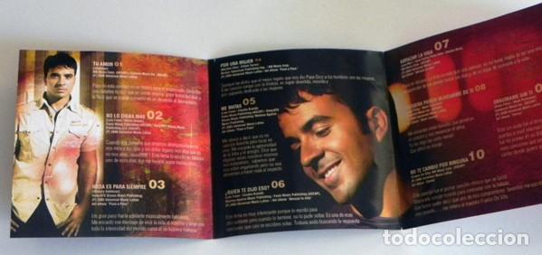 Vídeos y DVD Musicales: CD + DVD LUIS FONSI ÉXITOS 98 06 CANTANTE LATINO MÚSICA POP TU AMOR MI SUEÑO PERDÓNAME ME MATAS ETC - Foto 3 - 194710378