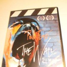 Vídeos y DVD Musicales: DVD PINK FLOYD. THE WALL (EL MURO) DE ALAN PALMER 95 MINUTOS CAJA FINA (BUEN ESTADO, SEMINUEVO). Lote 194750393