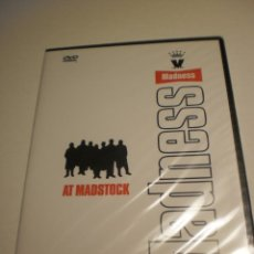 Vídeos y DVD Musicales: DVD MADNESS. AT MADSTOCK. 75 MINUTOS CAJA FINA (NUEVO, PRECINTADO). Lote 194750615