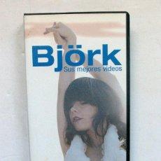 Vídeos y DVD Musicales: BJÖRK. SUS MEJORES VIDEOS. Lote 194776515