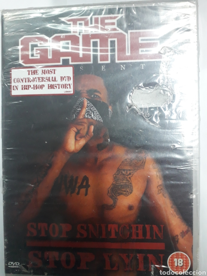THE GAME. STOP SNITOHIN. (Música - Videos y DVD Musicales)