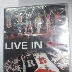 Vídeos y DVD Musicales: LIVE IN RÍO. R B D.. Lote 194873582