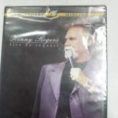 Vídeos y DVD Musicales: KENNY ROGERS. LIVE BY REQUEST.. Lote 194877317