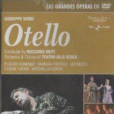 Vídeos y DVD Musicales: GIUSEPPE VERDI OTELLO. LAS GRANDES ÓPERAS EN DVD. DVD-6894. Lote 194934371