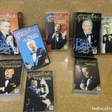 Vídeos y DVD Musicales: LOTE DOS PACKS VHS FRANK SINATRA BLUE EYES FOR EVER. Lote 194938740