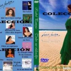 Vídeos y DVD Musicales: ISABEL PANTOJA (TODOS SUS VIDEOCLIPS ). Lote 206253451