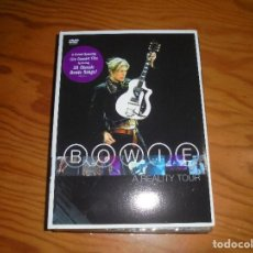 Vídeos y DVD Musicales: DAVID BOWIE. A REALITY TOUR. COLUMBIA, 2004. DVD + LIBRETO. IMPECABLE. (#). Lote 194961113
