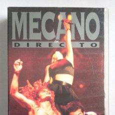 Vídeos y DVD Musicales: MECANO VHS EN DIRECTO. Lote 194969400