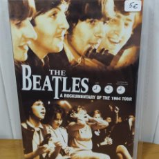 Vídeos y DVD Musicales: THE BEATLES. PRECIOSO DVD TITULADO: A ROCKUMENTARY OF THE 1964 TOUR. Lote 194979917