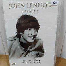 Vídeos y DVD Musicales: JOHN LENNON. PRECIOSO DVD TITULADO: IN MY LIFE. Lote 194979970