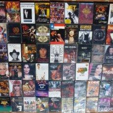 Vídeos y DVD Musicales: VENDO LOTE UNA COLECCION DE MUSICA 65 DVD'S DE ROCK POP BLUES PUNK HEAVY METAL COUNTRY JAZZ. Lote 195006461