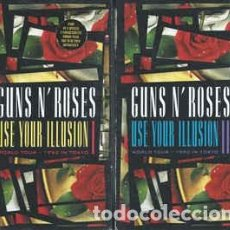 Vídeos y DVD Musicales: GUNS AND ROSES. USE YOUR ILLUSION 1 Y 2. WORLD TOUR 1992. 180 MINUTOS. 2 DVD. NUEVO.. Lote 195022216