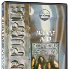 Vídeos y DVD Musicales: DEEP PURPLE. MACHINE HEAD. MAKING OF DEL DISCO. SUBTÍTULOS EN ESPAÑOL. 100 MINUTOS. DVD. NUEVO.. Lote 195023913