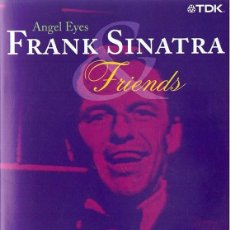 Vídeos y DVD Musicales: FRANK SINATRA & FRIENDS ANGEL EYES . Lote 195024467