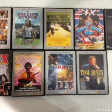 Vídeos y DVD Musicales: 9 DVD'S ROCK 60S, JAZZ, BLUES, HEAVY. Lote 195064078