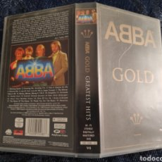 Vídeos y DVD Musicales: ABBA GOLD - VHS. Lote 195080681