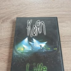Vídeos y DVD Musicales: KORN - LIVE AT THE HAMMERSTEIN, KOAST TO KOAST. Lote 195082275