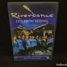 Vídeos y DVD Musicales: DVD - RIVERDANCE - LIVE FROM BEIJING. Lote 195096753