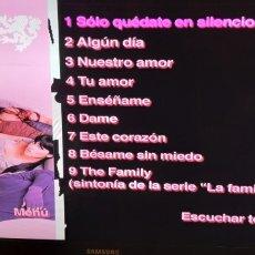 Vídeos y DVD Musicales: RBD DVD + INTIMO +REBELDE REBELDES SOLO DISCO SIN CAJA NI CARATULA + 5€ ENVIO C.N. 8€ EU 10€ RESTO. Lote 195127908