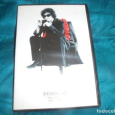 Vídeos y DVD Musicales: BUNBURY. LOS VIDEOS. 1996-2007. EMI, 2007. DVD. IMPECABLE (#). Lote 195171026