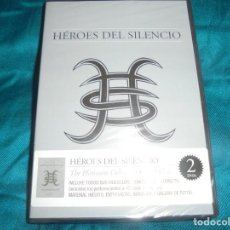 Vídeos y DVD Musicales: HEROES DEL SILENCIO. THE PLATINUM COLLECTION. LOS VIDEOS. 2 DVD´S. PRECINTADO (#). Lote 195171430