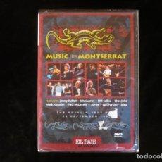 Vídeos y DVD Musicales: MUSIC FOR MONTSERRAT - THE ROYAL ALBERT HALL - DVD NUEVO PRECINTADO. Lote 195218406
