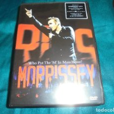 Vídeos y DVD Musicales: MORRISSEY. WHO PUT THE ´M´IN MANCHESTER? 2005. DVD . IMPECABLE (#). Lote 195265250