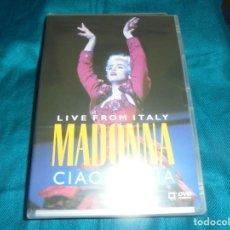 Vídeos y DVD Musicales: MADONNA. CIAO ITALIA. LIVE FROM ITALY. WARNER, 1999. DVD. PRECINTADO (#). Lote 195265640