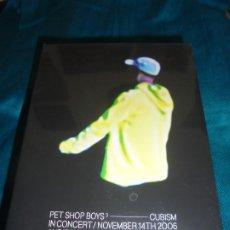Vídeos y DVD Musicales: PET SHOP BOYS. CUBISM. IN CONCERT 2006. WARNER, 2007. DVD. PRECINTADO (#). Lote 195266051