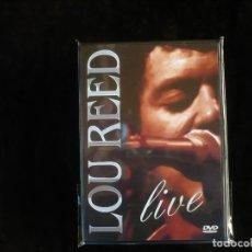 Vídeos y DVD Musicales: LOU REED LIVE - DVD NUEVO PRECINTADO. Lote 195324015