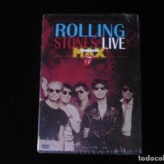 Vídeos y DVD Musicales: ROLLING STONES LIVE MAX - DVD NUEVO PRECINTADO. Lote 195325123