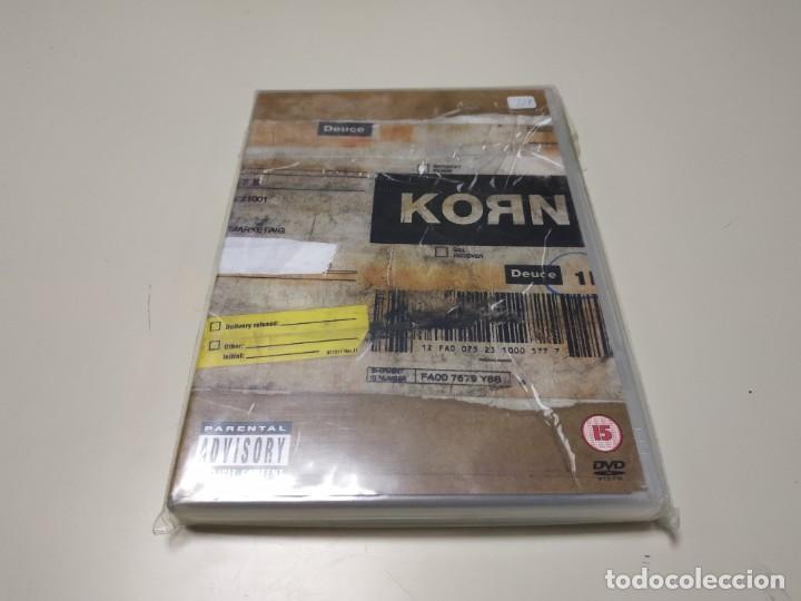 0220- KORN GENERO NU METAL DVD NUEVO REPRECINTADO LIQUIDACIÓN!! (Música - Videos y DVD Musicales)
