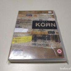 Vídeos y DVD Musicales: 0220- KORN GENERO NU METAL DVD NUEVO REPRECINTADO LIQUIDACIÓN!!. Lote 195389778