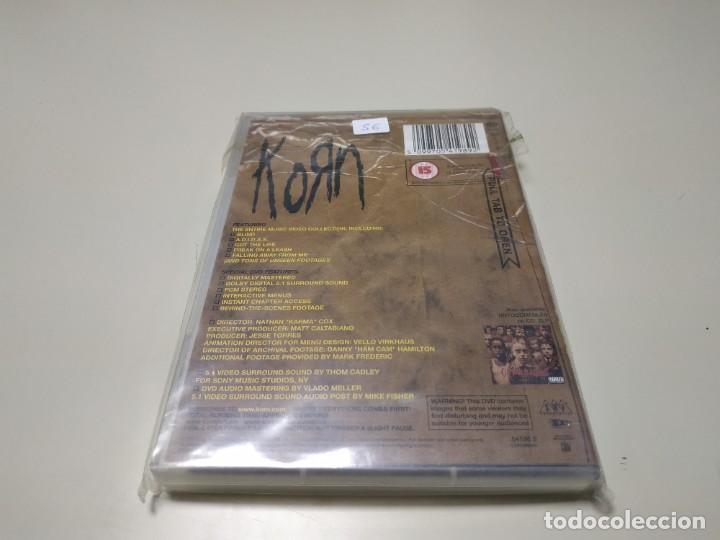 Vídeos y DVD Musicales: 0220- KORN GENERO NU METAL DVD NUEVO REPRECINTADO LIQUIDACIÓN!! - Foto 2 - 195389778