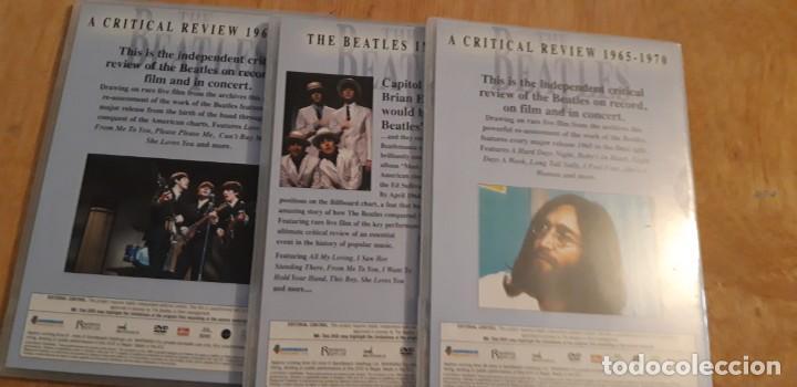 Vídeos y DVD Musicales: 1 SET 3 DVD.s DE ** THE BEATLES , ** 2003 CRITICAL REVIEW - Foto 2 - 195389937