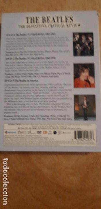 Vídeos y DVD Musicales: 1 SET 3 DVD.s DE ** THE BEATLES , ** 2003 CRITICAL REVIEW - Foto 3 - 195389937