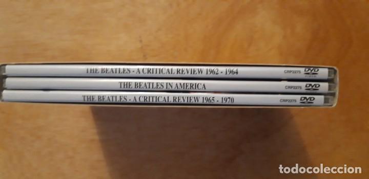Vídeos y DVD Musicales: 1 SET 3 DVD.s DE ** THE BEATLES , ** 2003 CRITICAL REVIEW - Foto 4 - 195389937