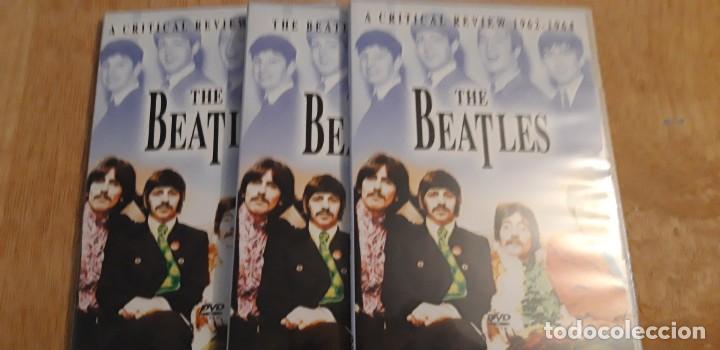 Vídeos y DVD Musicales: 1 SET 3 DVD.s DE ** THE BEATLES , ** 2003 CRITICAL REVIEW - Foto 5 - 195389937