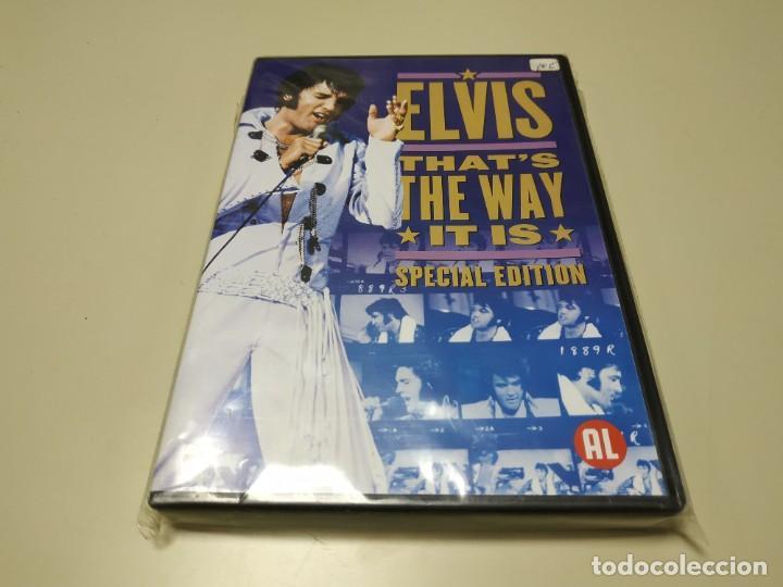 0220- ELVIS THATS THE WAY IT IS SPECIAL DVD NUEVO REPRECINTADO LIQUIDACIÓN (Música - Videos y DVD Musicales)