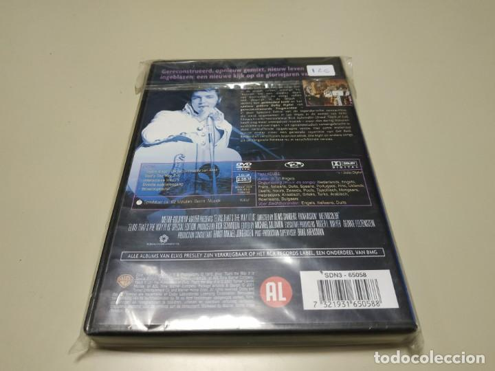 Vídeos y DVD Musicales: 0220- ELVIS THATS THE WAY IT IS SPECIAL DVD NUEVO REPRECINTADO LIQUIDACIÓN - Foto 2 - 195390015