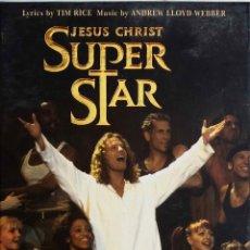 Vídeos y DVD Musicales: JESUS CHRIST SUPER STAR. A NEW STAGE PROUCTION. GLENN CARTER. RICK MAYALL.DVD EN CAJA CARTON.. Lote 195390111