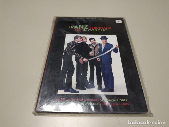 0220-FRANZ FERDINAND LIVE IN CONCERT DVD NUEVO REPRECINTADO LIQUIDACIÓN (Música - Videos y DVD Musicales)