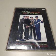 Vídeos y DVD Musicales: 0220-FRANZ FERDINAND LIVE IN CONCERT DVD NUEVO REPRECINTADO LIQUIDACIÓN. Lote 195390216