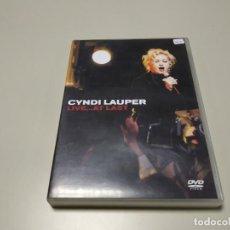 Vidéos y DVD Musicaux: 0220- CYNDI LAUPER LIVE.. AT LAST DVD NUEVO SIN PRECINTO LIQUIDACIÓN. Lote 195393912