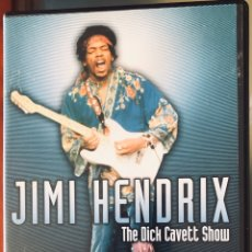 Vídeos y DVD Musicales: JIMI HENDRIX: THE DICK CAVETT SHOW. Lote 195463046