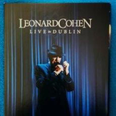 Vídeos y DVD Musicales: LEONARD COHEN - LIVE DUBLIN. Lote 195474651